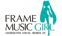 FRAME MUSIC GIRL