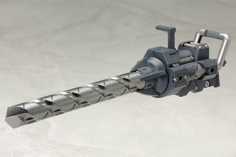 KOTOBUKIYA MSG HEAVY WEAPON UNIT 09 VORTEX DRIVER MODELING SUPPORT