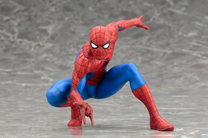 Cosplay Marvel The Amiazing Spider-Man Magnet Statue Action Figure Without Box