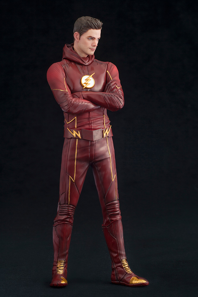 The Flash  Tv Series  Flash Artfx  Statue