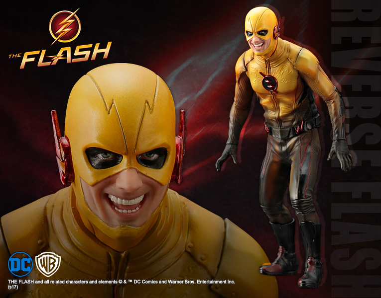 Reverse Flash The Flash Tv Artfx Statue Figure