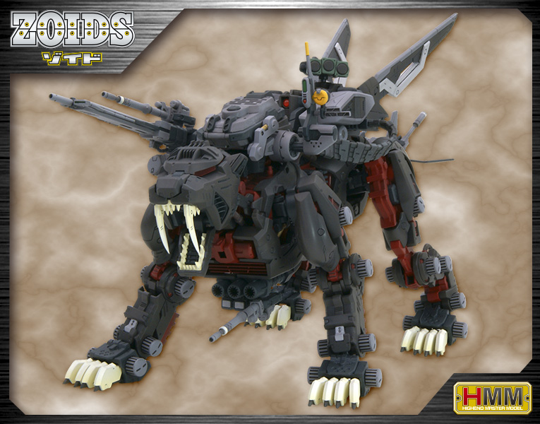 Zoids 1//72 Scale Model Kit HMM EPZ-003 Great Saber Marking Plus Ver